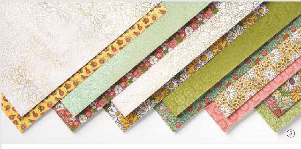 stampin up designerpapier share 2020 stempetlier schöner garten