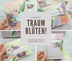 Stampin Up Traumblüten Kartenset Stempeltier