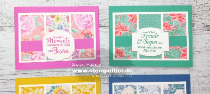 Blumen für jede Jahreszeit – Pretty Paper Bloghop
