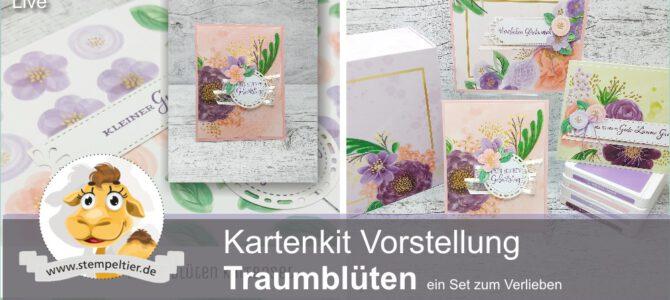 Traumblüten – ein wirklich traumhaftes Kartenset