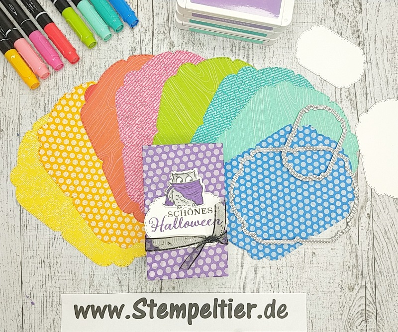 stampin up DSP signalfarben Designerpapier feiertagsetiketten