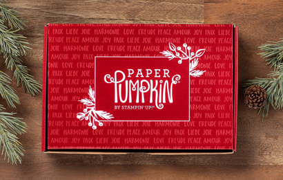 stampin up paper pumpkin weihnachten november feiertage voller freude