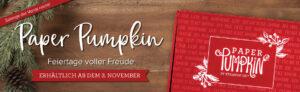 paper pumpkin november feiertage voller freude stempeltier
