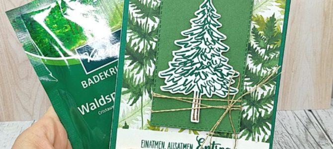 Badesalz Verpackung – Anleitung Kneipp Waldspaziergang