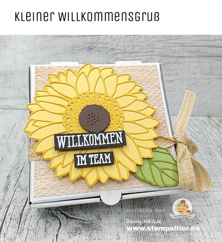 Stampin Up Sonnenblumen gute Laune Team Stempeltier