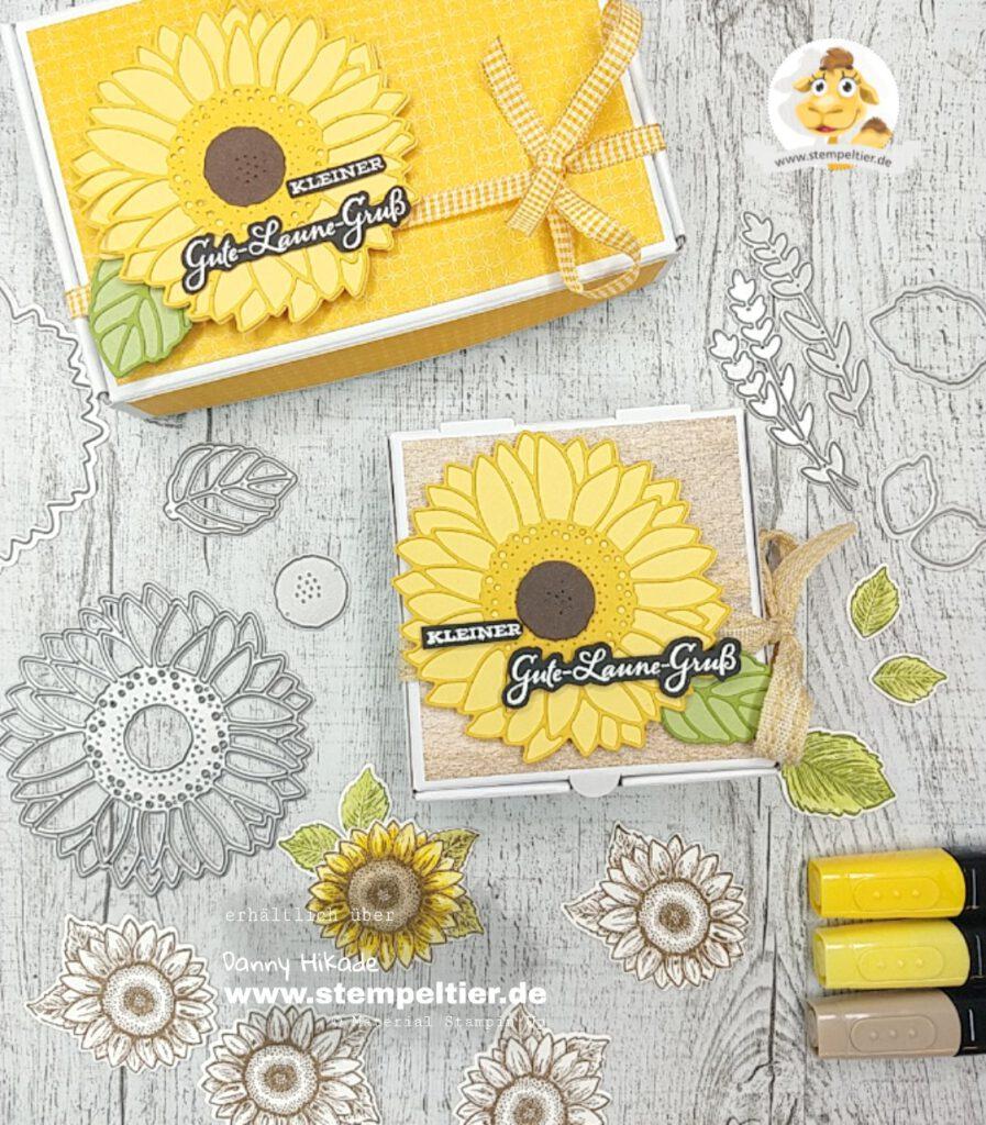 Stampin Up Sonnenblumen gute Laune Stempeltier