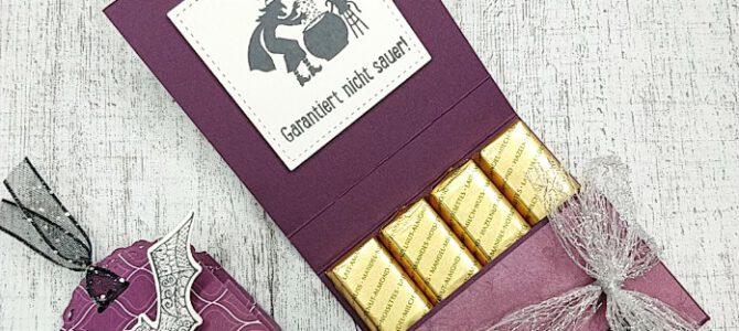 Merci Schokolade Verpackungsanleitung