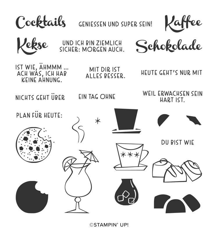 nichts geht über schokolade kaffe stampin up stempeltier anleitung