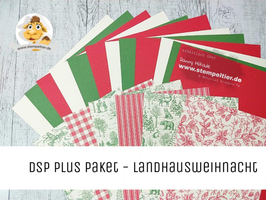 stampin up dsp plus pakete stempeltier herbst winter landhausweihnacht