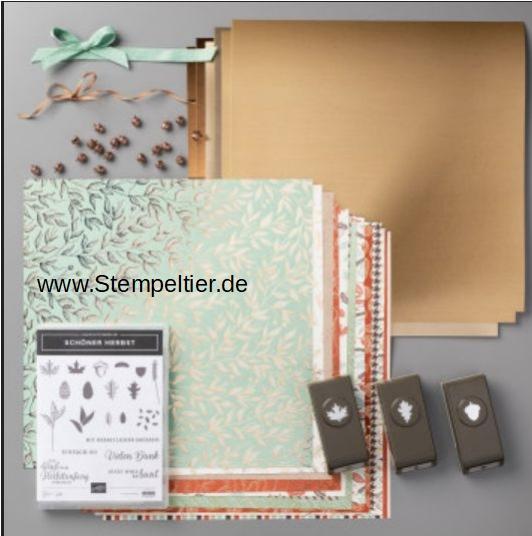 stampin up online workshop goldener Herbst stempeltier