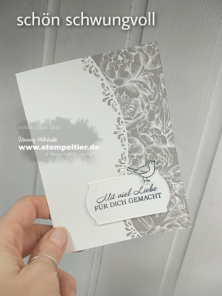 stampin up schwungvolle kreationen mit liebe gemacht bordüren karte transparent