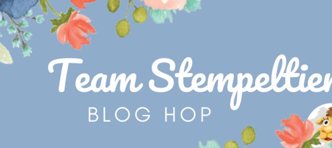 Team Stempeltier Bloghop – schwungvolle und festliche Kreationen