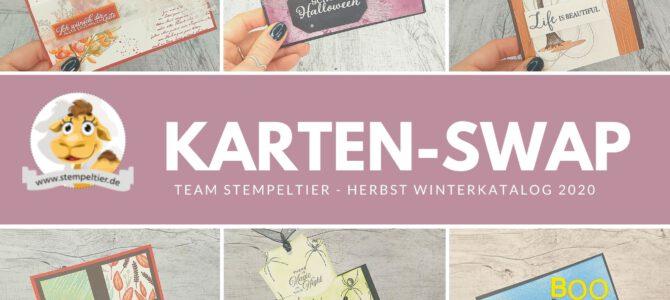 Kartenswap Team Stempeltier – Herbst Halloween 2020