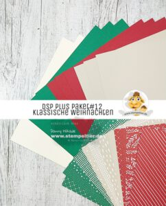 stampin up DSP Plus paket klassische Weihnachten stempeltier