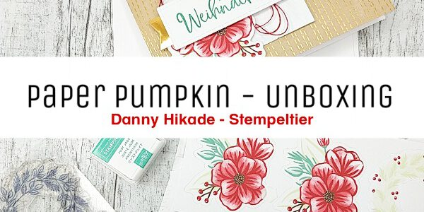 Weihnachtskarten leicht gemacht mit Paper Pumpkin
