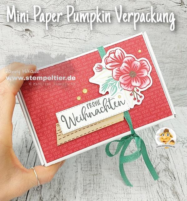 stampin up paper pumpkin feiertage voller freude alternativen projects feiertage voller freude verpackung