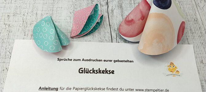 Last minute Silvester DIY Glückskekse