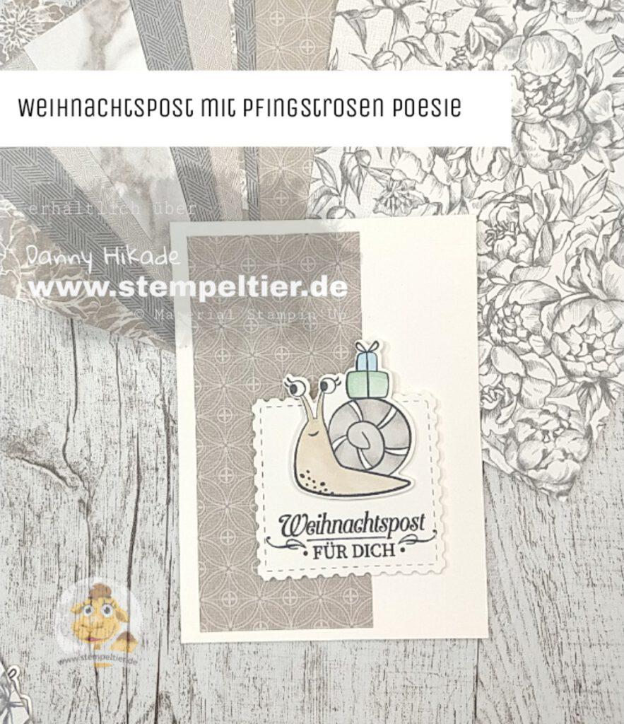 stampin up schneckenpost snailmail minikatalog 2021 pfingstrosenpoesie