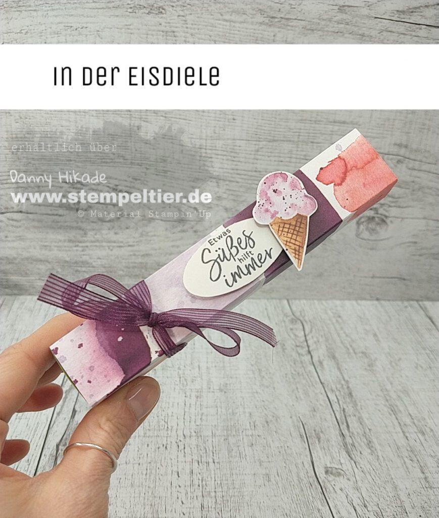 stampin up eisdiele ice cream corner share dsp stempeltier verpackung küsschen