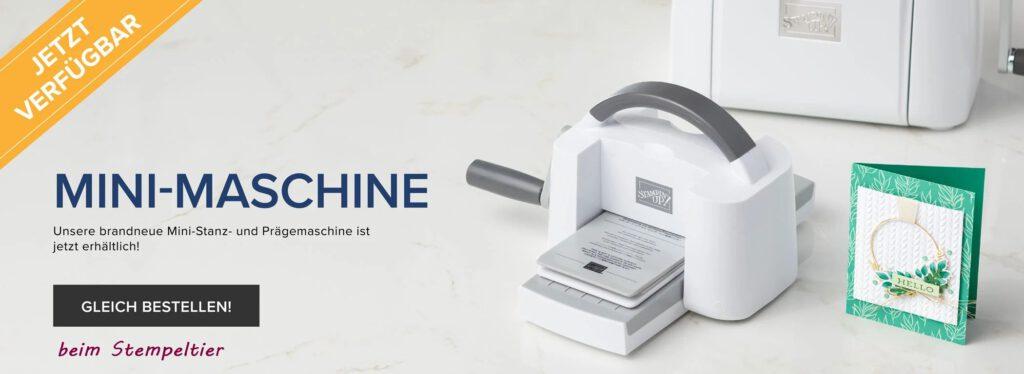 stampin up mini stanz und prägemaschine bigshot bestellen stempeltier