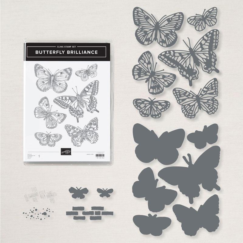 155821 stampin up produktpaket butterfly brilliance schmetterlinge