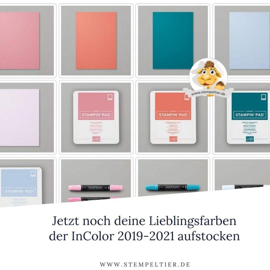 stampin up incolor 2019 2021 auslaufen stempeltier
