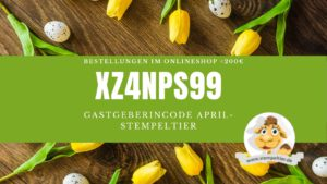 stampin up bestellen hostcode april