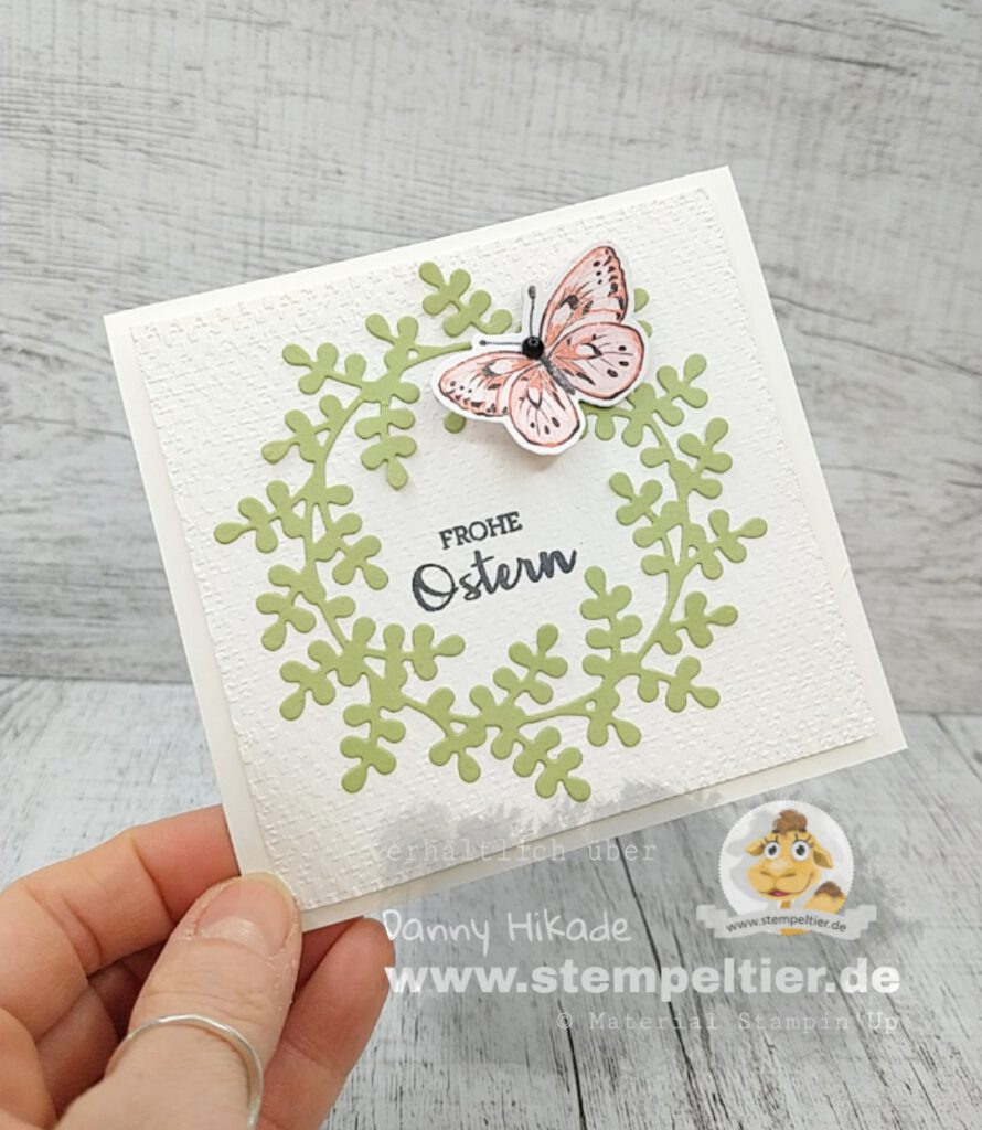 stampin up ostern verpackung hase