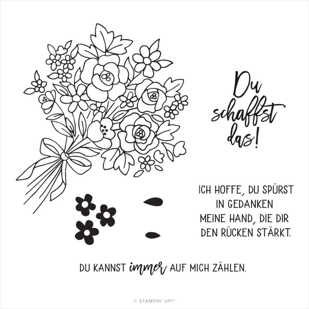 paper pumpkin blumen der freundschaft april inhalt deutsches stempelset stempeltier