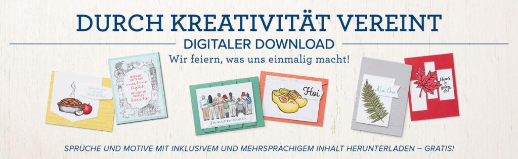 stampin up freebie gratis download kreativität verbindet