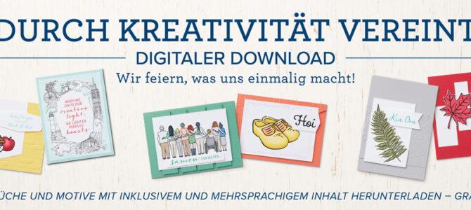 Durch Kreativität vereint – Freebie