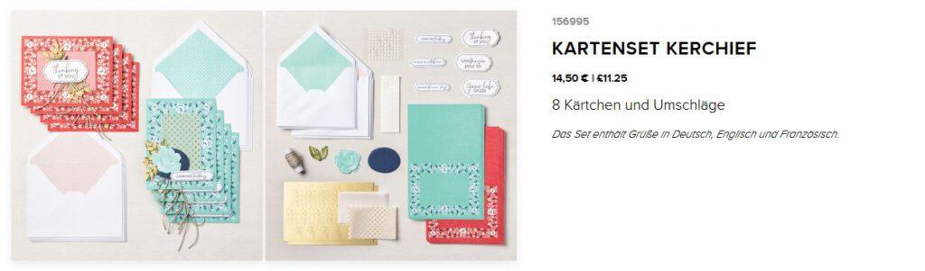 kartenset kit stampin up kerchief bandana