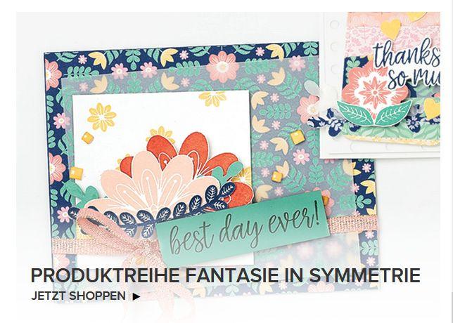 stampin up produktreihe fantasie in symmetrie