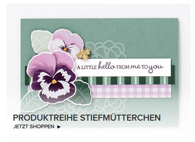 stampin up produktreihe stiefmütterchen