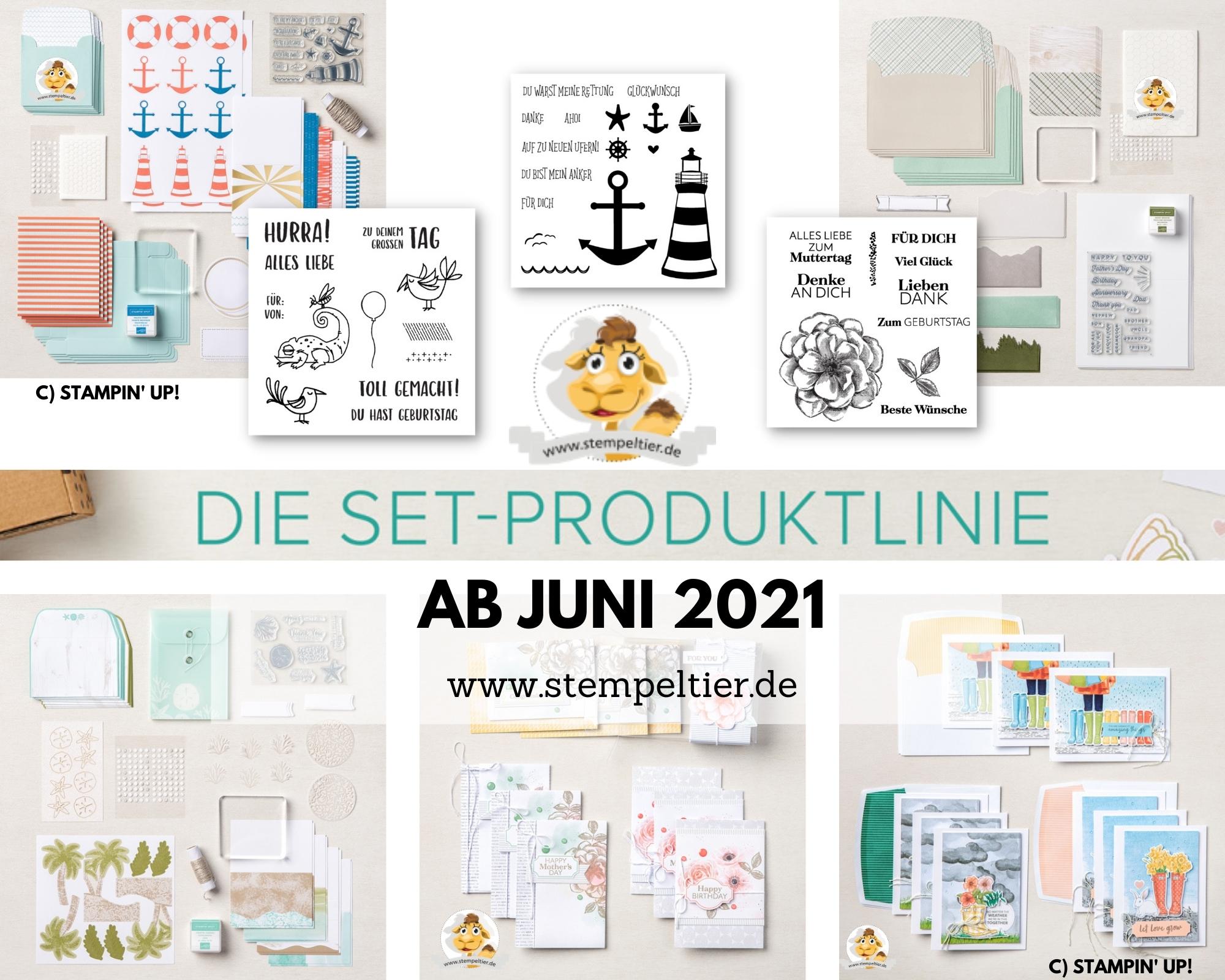 stampin up sets KITS bestellen Ab Juni 2021