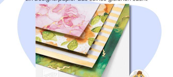 Designerpapier BlogHop Tintenkunst