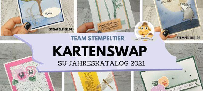 Kartenswap im Team zum Jahreskatalog 2021