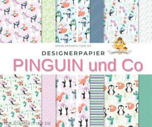 stampin up sab Designerpapier pinguin und go gratis stempeltier