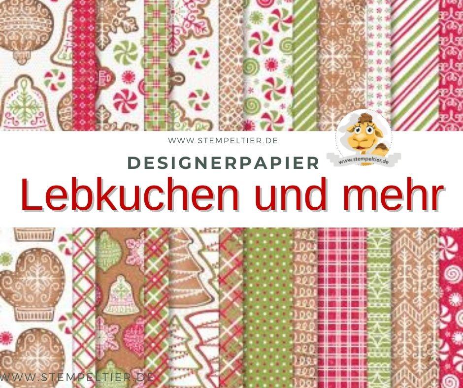 stampinup_Designerpapier Lebkuchen und Mehr