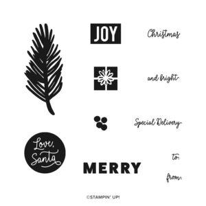 stampin up kit anhänger weihnachten verpacken