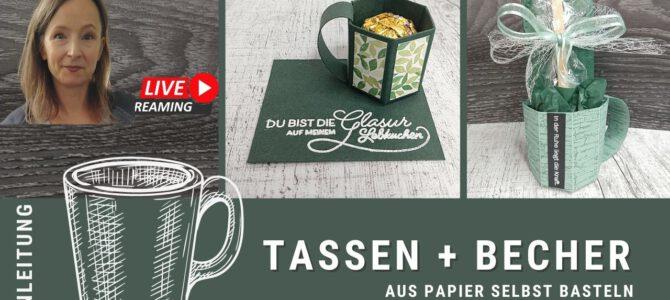 Anleitung Tassen + Becher